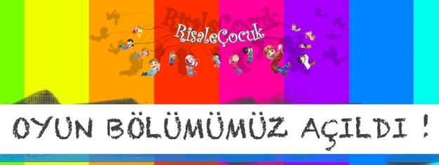 Risale Çocuk Oyunlar Bölümü Yayında
