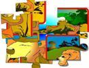 Aslan'ı tamamla (Yapboz-puzzle)