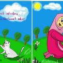 Resimdeki 9 Farkı Bulun (Hayvanlara Merhamet Karikatürü)