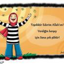 Teşekkür Ederim Allah'ım Karikatürü