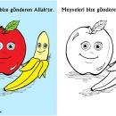Meyveleri Yaratan Allah'tır