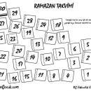 Ramazan Takvimi Etkinliği