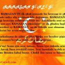 Ramazan Günlüğüm 2. gün