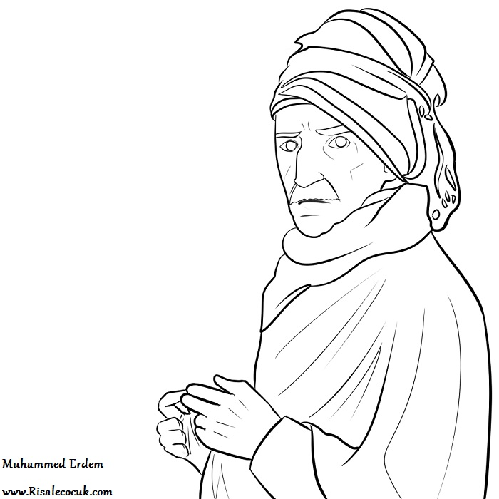 Bediuzzaman Dede Boyama Okul Oncesi Boyama Karikaturler